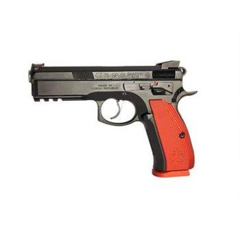 CZ CZ 75 Shadow Canadian Semi-Auto Pistol, 9MM, black steeel frame, red alum grip, 10 rnd,