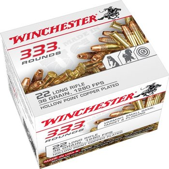 WINCHESTER WINCHESTER 22 LR 36 GRAIN 1280 FPS 333 rounds