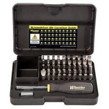 Wheeler  Professional Gunsmithing Screwdriver Set 43pc