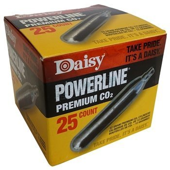 Daisy Powerline CO2 Cylinders / 25-Pack