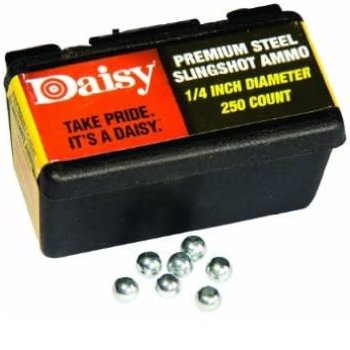 Daisy Powerline Premium 1/4 Inch Slingshot Ammo 250 Count