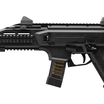 CZ CZ Scorpion Evo 3 S Pistol 9MM 7'' Black with STOCK