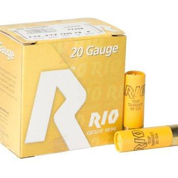 RIO 20GA 2 3/4IN 2 1/2DRAM 1250FPS 7/8OZ #9 SHOT
