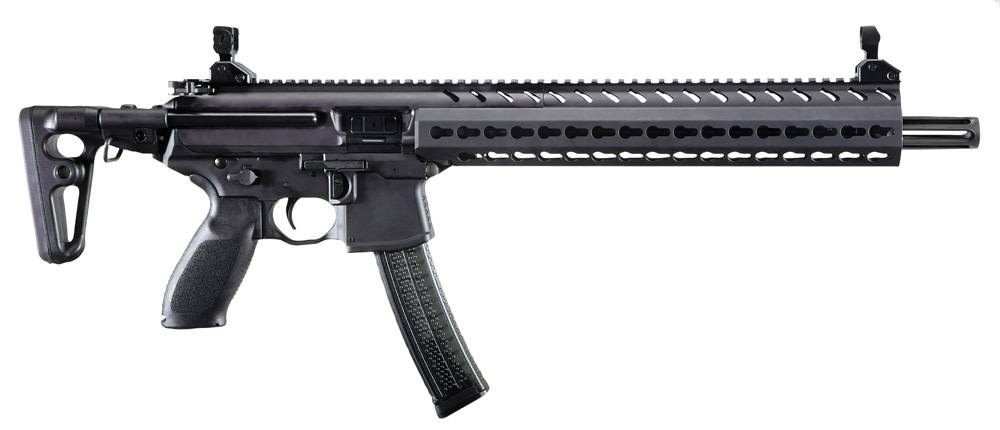 Eagle Auto Sales >> Sig Sauer Sig Sauer MPX Carbine Semi-Auto Rifle, 9MM, 16'' Bbl, Black, 5 Rnd, Collapsible Stock ...