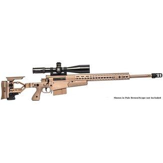 AI AI AX .308 Win Rifle 24'' Plain threaded Folding Pale Br Tac Muz