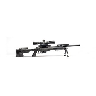 AI Accuracy International MAT .308 Win Rifle 24'' Fixed Blk Plain Thread Std Muzzle brake