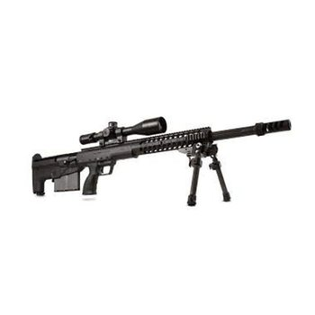 Desert Tech DESERT TECH HTI c.50 BMG BLK/BL (Scope & Scope Mount Not Included)
