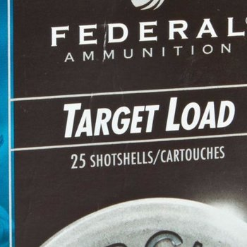 Federal Federal  Top Gun Target Shotshell 12 GA, 2-3/4 in, No. 7-1/2, 1 oz, 2-3/4Dr, 25 Rnd. single
