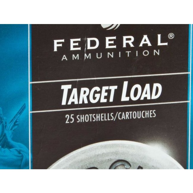 Federal  Top Gun Target Shotshell 12 GA, 2-3/4 in, No. 7-1/2, 1 oz, 2-3/4Dr  25/box