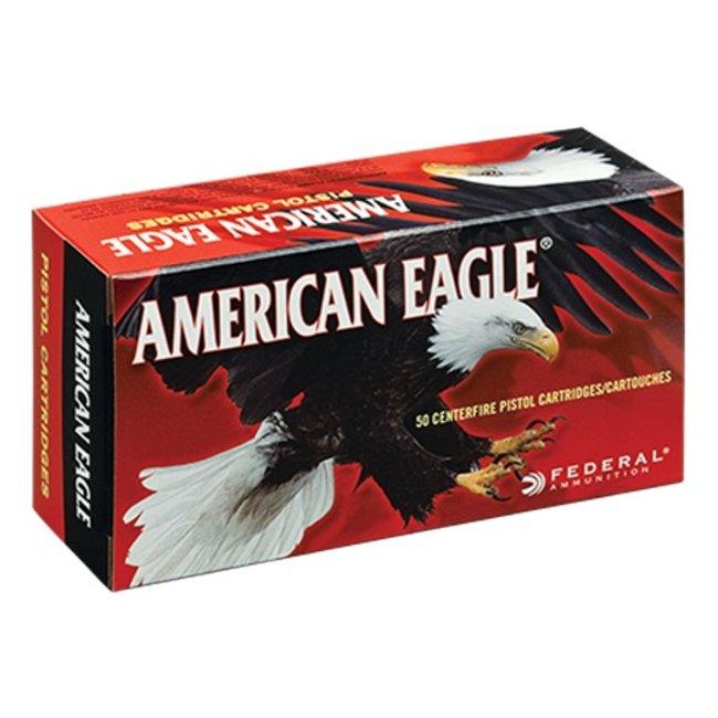 Federal American Eagle 9mm 124gr GMJ 1000/case