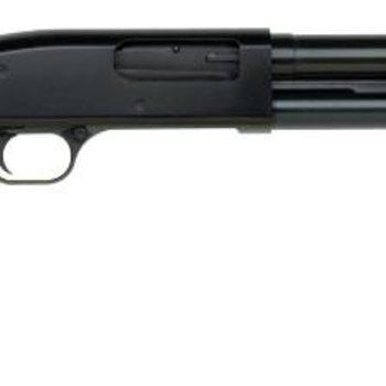 Mossberg Mossberg Maverick 88 Pump Shotgun 12 GA, RH ,3'' Slug 24 In FullRifled Blue Syn