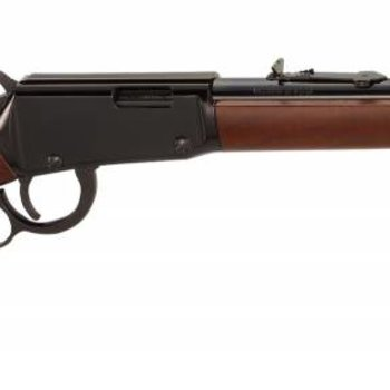 Henry Henry Lever  Rifle h001Y 22LR Ambi BluedWood Youth 16.125 In 12+1rd