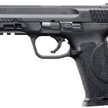 Smith & Wesson Smith & Wesson M&P M2.0 Semi-Auto Pistol, 4.25'' Bbl Black, Polymer Grip, 10+1 Rnd, 2 Mags, White Two Dot Rear Sight, Striker Fire 40 S&W
