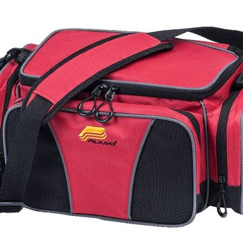 Plano Plano 443500 Weekender 3500 Size Tackle Case, w/ 2-3500's, Red