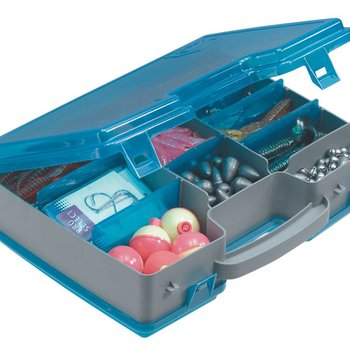 Plano Plano 171502 Tackle Storage Tote 11x8x3'' Gray/Blu