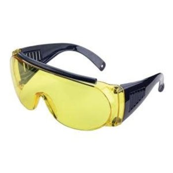 Allen 2170 glasses yellow lens UV400 suitable for low to average sunlight