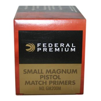 Federal Fed Gold Medal Small Magnum Pistol Match Prime  GM200M 1000ct
