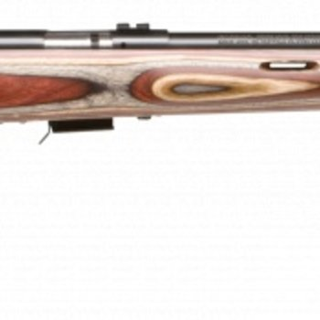 Savage Savage Mark II Bolt Rifle 22 LR, RH, 21 in 10+1 Rnd, Accu-Trigger BRJ Satin Blued Wood
