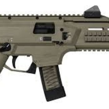 CZ CZ  Scorpion Evo 3 S1 Semi-Auto Tactical Pistol 9MM 7'' Bbl,5 Rnd, Low Profile Sight FDE