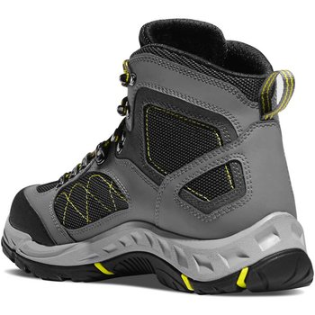 Danner size10 TrailTrek 4.5'' Gray/Yellow 10