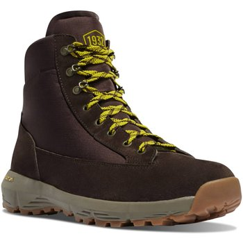 Danner Explorer size11 650 6'' Dark Brown/Lime Green 11