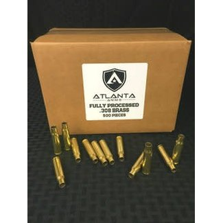 Components Processed  Brass 308 Cleaned Fulllength Sized and Trimmed 500ct