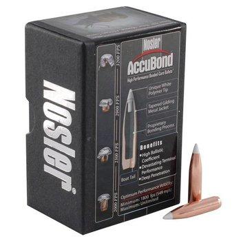 Nosler Nosler AccuBond 6.5mm 264 Cal 130 Grain Spitzer 50/Box