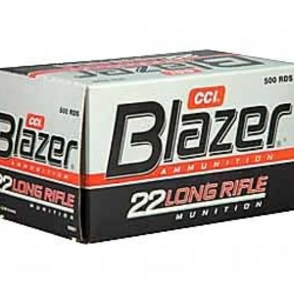 cci blazer 22 lr ammo high velocity ammunition 500 rounds lead