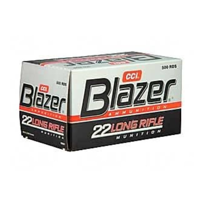 CCI Blazer .22 LR High Velocity Lead RN 40 Gr 500/box