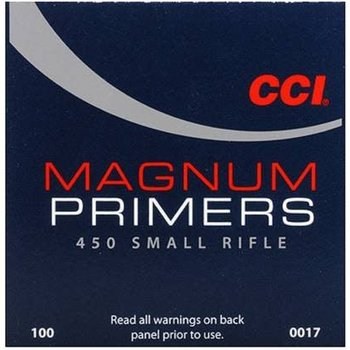 CCI CCI #450 Magnum Small Rifle Primers (1000pk)