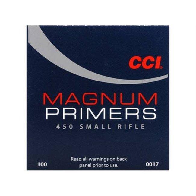 CCI #450 Magnum Small Rifle Primers (1000pk)