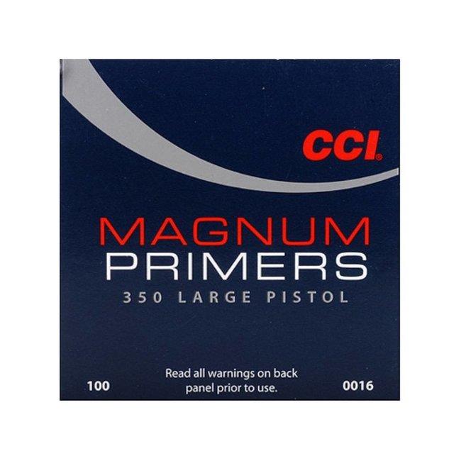 CCI #350 MAG LARGE PISTOL PRIMERS (1000pk)