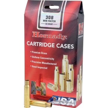 Hornady Hornady Case 308 Win Match Unprimed (50)