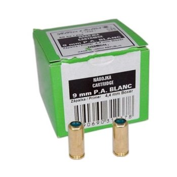 Sellier & Bellot Sellier & Bellot (S&B) 9mm PA Blanks 50pk