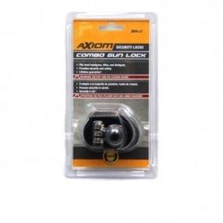 Axiom Gun Trigger Lock - combination flat bottom