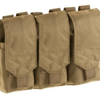 Shadow Strategic Shadow Strategic:Triple M16/M4/Mk12 magazine pouch Coyote