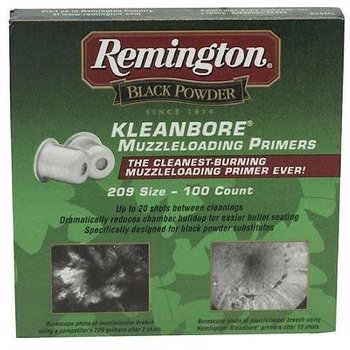 Remington REMINGTON Kleanbore Muzzleloading Primers 209 Size - 100 count ( REM-239900