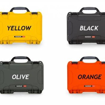 Nanuk Nanuk case with foam insert for Classic gun orange 909