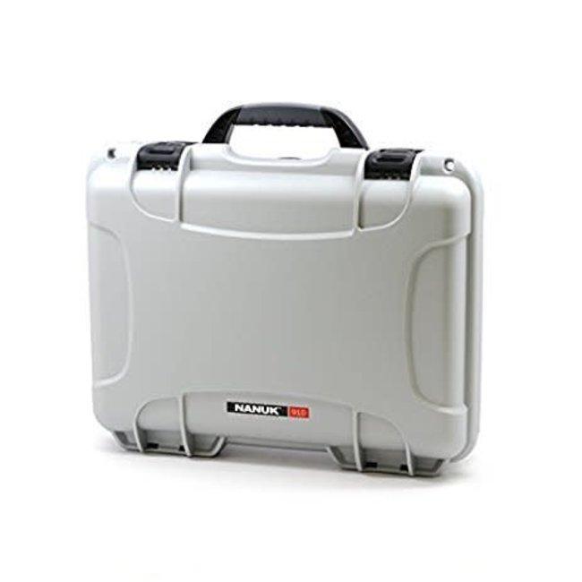 Nanuk Case with Foam Silver 910
