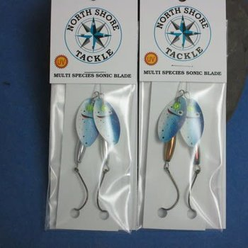 North Shore North Shore Tackle Blue Gill Inline spinner all sizes of 2