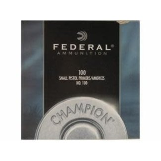 Federal Federal #100 Small Pistol Primers 1000ct