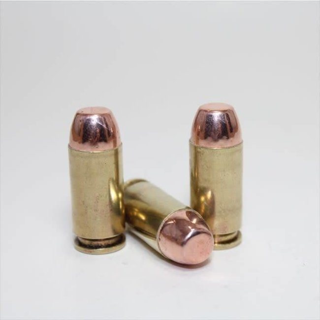 .40 180gr FMJ MAJOR AMMO 250rd/case