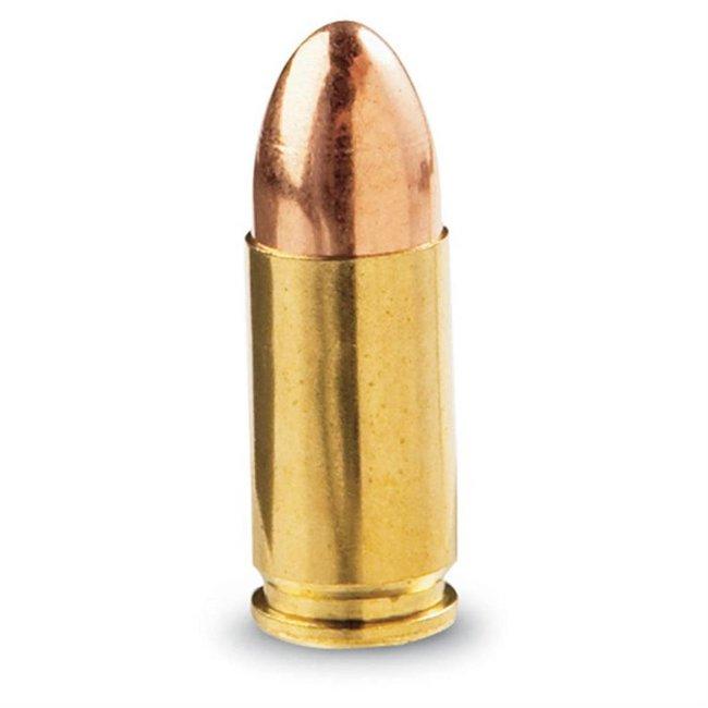 BDX 9mm 124gr FMJ Gold AMMO 1200rd/case