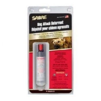 sabre Sabre Dog Deterrent with Clear Case 22G