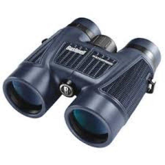 Bushnell 8x42 Black Roof BAK-4, WP/FP, Twist Up Eyecups, Box 6 L H2O