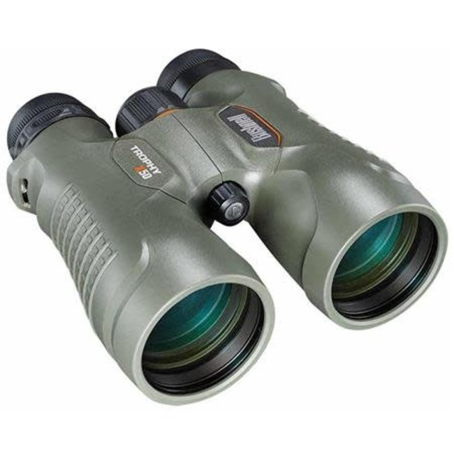 Bushnell Trophy Xtreme Binoculars (10X50 Xtreme Green;Roof Fmc;WP;Pc3;Box 6L)