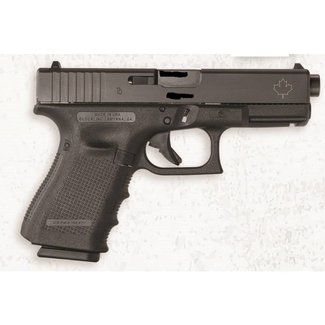 Glock Glock 19 Gen 4 Canadian Edition fixed sight- 9mm, 4.17'' 3 mags