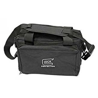 Glock Glock 4-pistol range bag with Multiple Pockets with Zippers,Padded Shoulder Straps and Handles