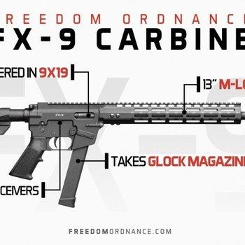 "freedom ordnance FREEDOM ORDNANCE FX-9 Non-Res18.6"""