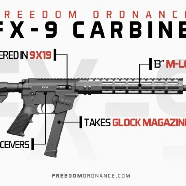 freedom ordnance *** Only available Spring 2019***FREEDOM ORDNANCE FX-9 Non-Res $1049 deposit $250